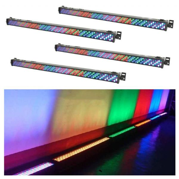 4 x 1m LED Uplighter Bar / Strip (Hire Cost per Day)